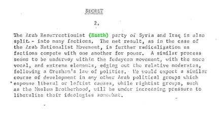The Assad regime in Syria: Exploring Topics in the News with U.S. Declassified Documents Online