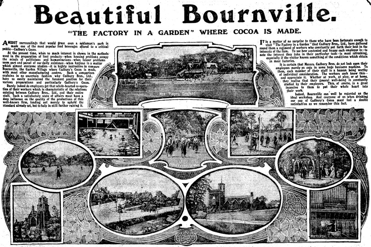 Unwrapping the Beauty of Bournville