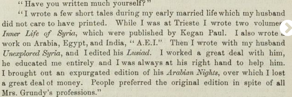 "A close up of a newspaper Description automatically generated   ""Interview."" Woman's Herald, vol. 5, no. 190, 18 June 1892, p. 8+. Women's Studies Archive,"