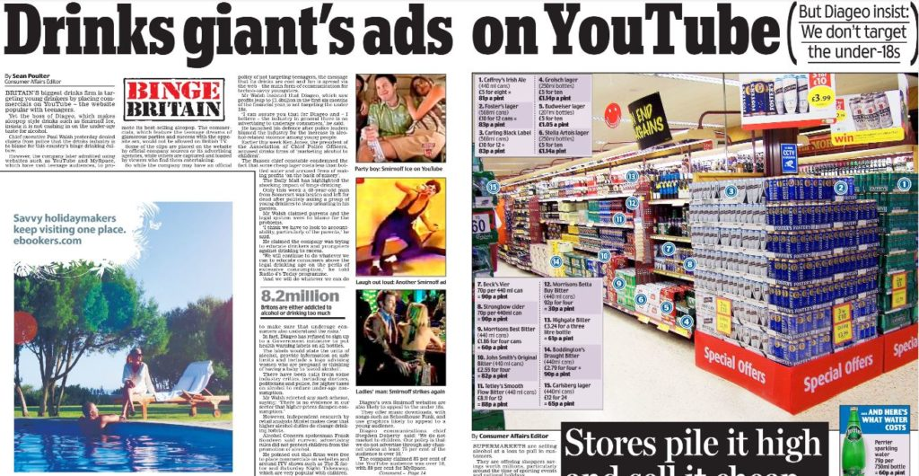 Article about controversial advertisements on YouTube, in debate about whether YouTube is a platform or publisher. Click the link for full transcript.